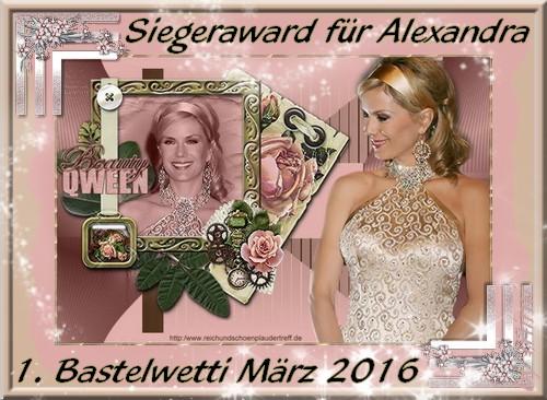 Award des Gewinners