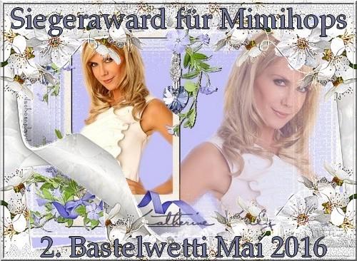 Award des Bastelwetti-Gewinners